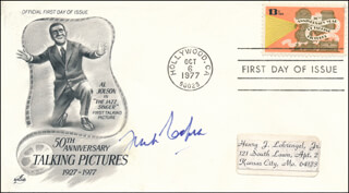 FRANK CAPRA - FIRST DAY COVER SIGNED