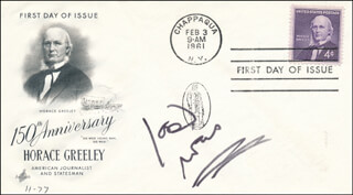 JOAN RIVERS - FIRST DAY COVER SIGNED