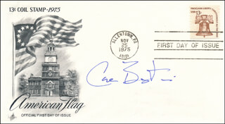 CARL BERNSTEIN - FIRST DAY COVER SIGNED