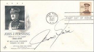 LT. GENERAL JAMES M. GAVIN - FIRST DAY COVER SIGNED