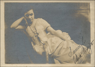 EDNA MAYO - AUTOGRAPHED SIGNED PHOTOGRAPH