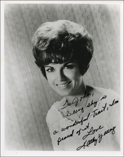 KATHY YOUNG - AUTOGRAPHED INSCRIBED PHOTOGRAPH