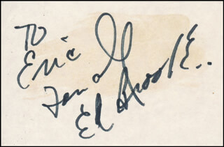 EDWARD W. BROOKE III - AUTOGRAPH NOTE SIGNED