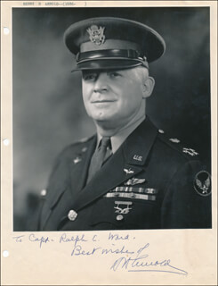 Autographs: GENERAL HENRY H. HAP ARNOLD - AUTOGRAPH NOTE SIGNED