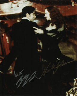 MOULIN ROUGE! MOVIE CAST - AUTOGRAPHED SIGNED PHOTOGRAPH CO-SIGNED BY: NICOLE KIDMAN, EWAN McGREGOR