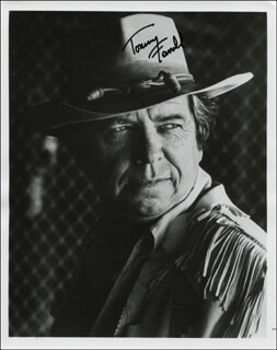 TOMMY FARRELL - AUTOGRAPHED SIGNED PHOTOGRAPH