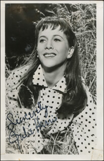 JULIE HARRIS - AUTOGRAPHED SIGNED PHOTOGRAPH