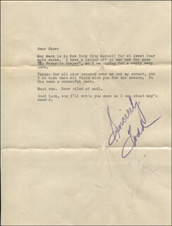 TODD MARKHAM - TYPED LETTER SIGNED
