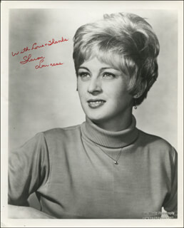 SHARON LOWNESS - AUTOGRAPHED SIGNED PHOTOGRAPH