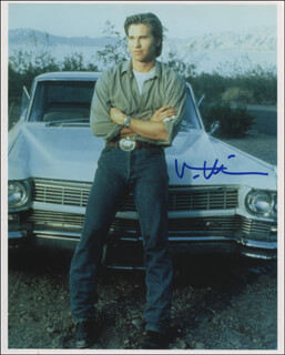 VAL KILMER - AUTOGRAPHED SIGNED PHOTOGRAPH