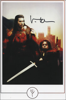 VAL KILMER - PRINTED ART SIGNED