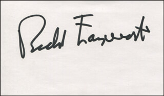 RICHARD FARNSWORTH - AUTOGRAPH