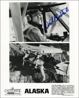 DIRK BENEDICT - PRINTED PHOTOGRAPH SIGNED IN INK