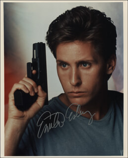 EMILIO ESTEVEZ - AUTOGRAPHED SIGNED PHOTOGRAPH