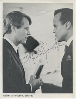 HARRY BELAFONTE - MAGAZINE PHOTOGRAPH SIGNED