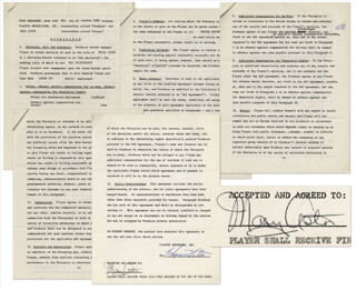 MARY ASTOR - CONTRACT SIGNED 10/09/1962