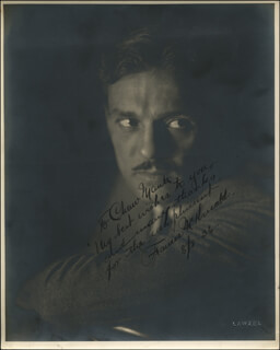 FRANCIS MCDONALD - AUTOGRAPHED INSCRIBED PHOTOGRAPH 08/08/1936