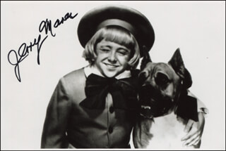 JERRY MAREN - AUTOGRAPHED SIGNED PHOTOGRAPH