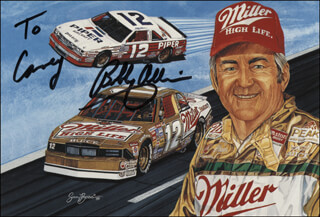 BOBBY ALLISON - INSCRIBED ADVERTISEMENT SIGNED