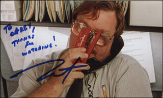 STEPHEN ROOT - AUTOGRAPHED INSCRIBED PHOTOGRAPH
