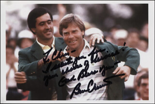 BEN CRENSHAW - AUTOGRAPHED INSCRIBED PHOTOGRAPH