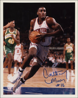 ANTHONY MASON - AUTOGRAPHED SIGNED PHOTOGRAPH