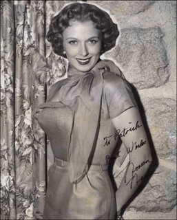 NOREEN NASH - AUTOGRAPHED INSCRIBED PHOTOGRAPH