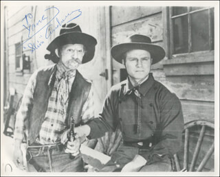 SLIM ANDREWS - AUTOGRAPHED INSCRIBED PHOTOGRAPH