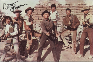 ROBERT FULLER - AUTOGRAPHED SIGNED PHOTOGRAPH