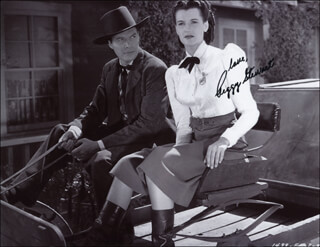 PEGGY STEWART - AUTOGRAPHED SIGNED PHOTOGRAPH
