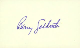 BARRY GOLDWATER - AUTOGRAPH