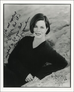 MARCIA GAY HARDEN - AUTOGRAPH QUOTATION ON PHOTOGRAPH SIGNED