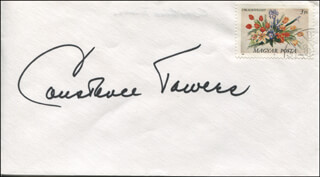 CONSTANCE TOWERS - ENVELOPE SIGNED