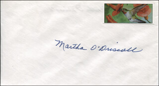 Autographs: MARTHA O'DRISCOLL - ENVELOPE SIGNED