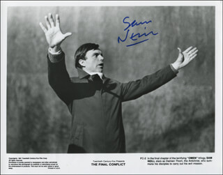 SAM NEILL - PRINTED PHOTOGRAPH SIGNED IN INK