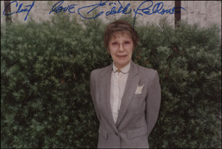 EDITH FELLOWS - AUTOGRAPHED INSCRIBED PHOTOGRAPH