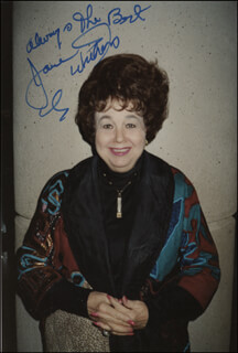 JANE WITHERS - AUTOGRAPHED SIGNED PHOTOGRAPH