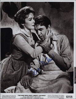 VERA MILES - PRINTED PHOTOGRAPH SIGNED IN INK