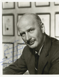 SEYMOUR HALPERN - AUTOGRAPHED INSCRIBED PHOTOGRAPH