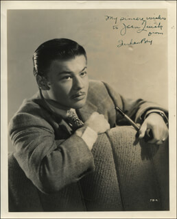TURHAN BEY - AUTOGRAPHED INSCRIBED PHOTOGRAPH