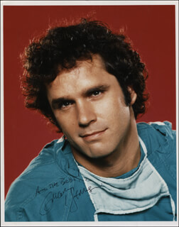 GREGORY HARRISON - AUTOGRAPHED SIGNED PHOTOGRAPH