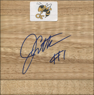 JAVARIS CRITTENTON - EPHEMERA SIGNED