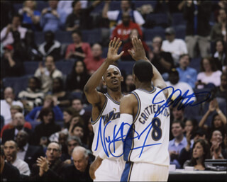 JAVARIS CRITTENTON - AUTOGRAPHED SIGNED PHOTOGRAPH CO-SIGNED BY: NICK YOUNG