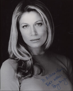 SONYA WALGER - AUTOGRAPHED INSCRIBED PHOTOGRAPH