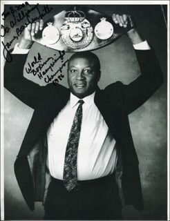JAMES BONECRUSHER SMITH - AUTOGRAPHED INSCRIBED PHOTOGRAPH