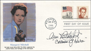 ANN RUTHERFORD - FIRST DAY COVER SIGNED