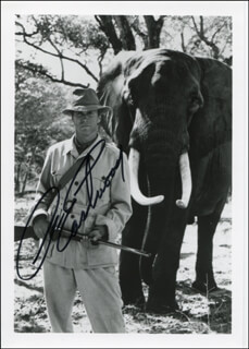 CLINT EASTWOOD - AUTOGRAPHED SIGNED PHOTOGRAPH