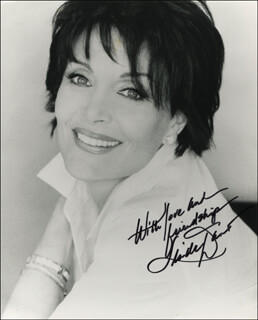 LINDA DANO - AUTOGRAPHED SIGNED PHOTOGRAPH