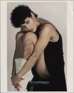 Autographs: DEBBIE ALLEN - INSCRIBED PHOTOGRAPH SIGNED 1999