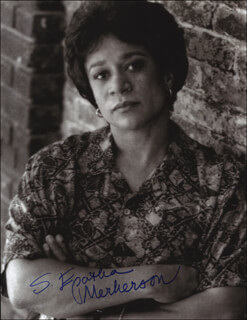 S. EPATHA MERKERSON - AUTOGRAPHED SIGNED PHOTOGRAPH